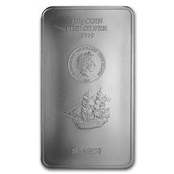Genuine 250 gram Fine Silver Bar - Cook Islands Bounty