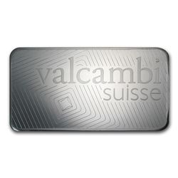 Genuine 1 kilo 0.999 Fine Silver Bar - Valcambi w/ Assay