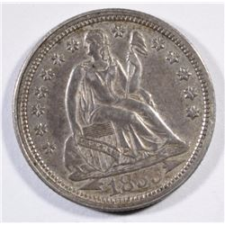 1855 ARROWS SEATED LIBERTY DIME
