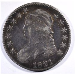 1821 CAPPED BUST HALF DOLLAR XF  BETTER DATE