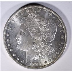1884-O MORGAN DOLLAR CH/GEM BU