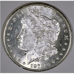 1878-CC MORGAN SILVER DOLLAR BU
