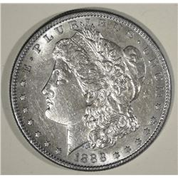 1888-S MORGAN DOLLAR AU/BU