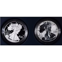 2012 AMERICAN EAGLE SAN FRANCISCO TWO-COIN SILVER PROOF SET - ORIGINAL BOX/COA