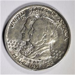1921 ALABAMA  COMMEMORATIVE HALF DOLLAR, BU