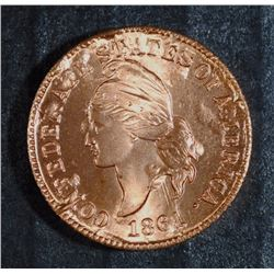 1861 CONFEDERATE CENT RESTRIKE