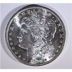 1880-S MORGAN SILVER DOLLAR GEM BU