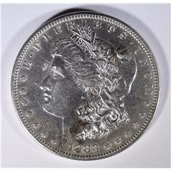 1883-S MORGAN SILVER DOLLAR BU