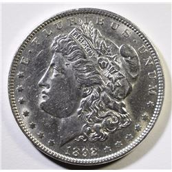1892 MORGAN SILVER DOLLAR BU