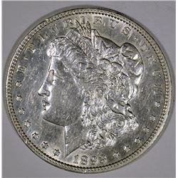 1893 MORGAN SILVER DOLLAR AU/BU