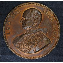 1893 POPE LEO XIII PAPAL MEDAL, VERY SCARCE MEDAL