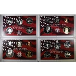 2002 & 2003 U.S. SILVER PROOF SETS IN ORIGINAL; PACKAGING