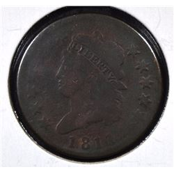 "1811 ""KEY DATE"" LOW MINTAGE CLASSIC HEAD CENT"