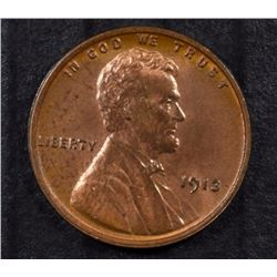 1913 LINCOLN CENT - UNC GORGEOUS