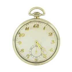 Vintage Movado Pocket Watch - 18KT White Gold