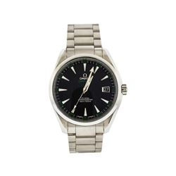 Omega Stainless Steel Seamaster Aqua Terra Men's Watch
