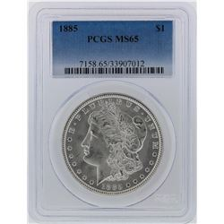 1885 PCGS MS65 Morgan Silver Dollar
