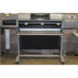 HP DESIGN JET 5000PS PRINTER MODEL C6091A WITH