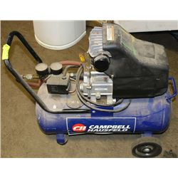 CAMPBELL  HAUSFELD AIR COMPRESSOR 125PSI MAX