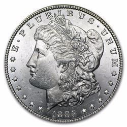 1885 Morgan Dollar BU MS-63