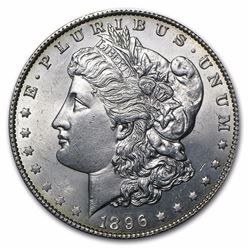 1896 Morgan Dollar BU MS-63
