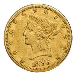 $10 Liberty Gold Eagle coin ( Minted 1838-1907, date unspecified)
