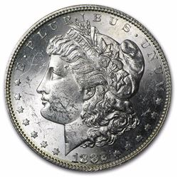 1882-S Morgan Dollar BU MS-63