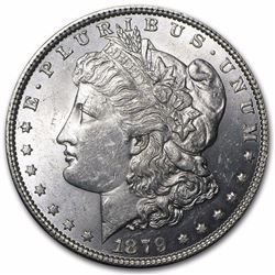 1879 Morgan Dollar BU MS-63