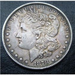 1878 S Morgan Silver Dollar XF