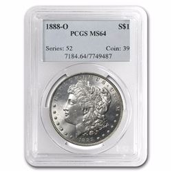 1882 Morgan Dollar MS-64 NGC