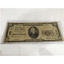 1886 $1.00 Silver Certificate Martha Washington VF-25 PMG