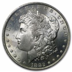 1882-CC Morgan Dollar MS-65