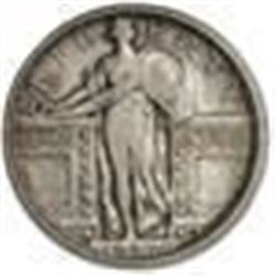 1917-S Standing Liberty Quarter Type-I XF Details