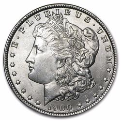 1900 MORGAN SILVER DOLLAR BU MS-63