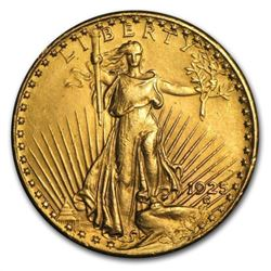 $20 Gold Saint Gaudens Double Eagle