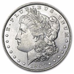 1897 Morgan Dollar BU MS-63
