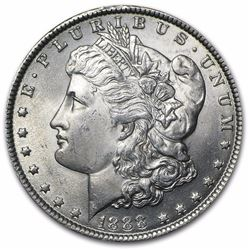 1888 Morgan Dollar BU MS-63