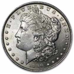 1890 Morgan Dollar BU MS-53