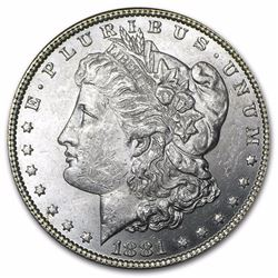 1881 Morgan Dollar BU MS-63