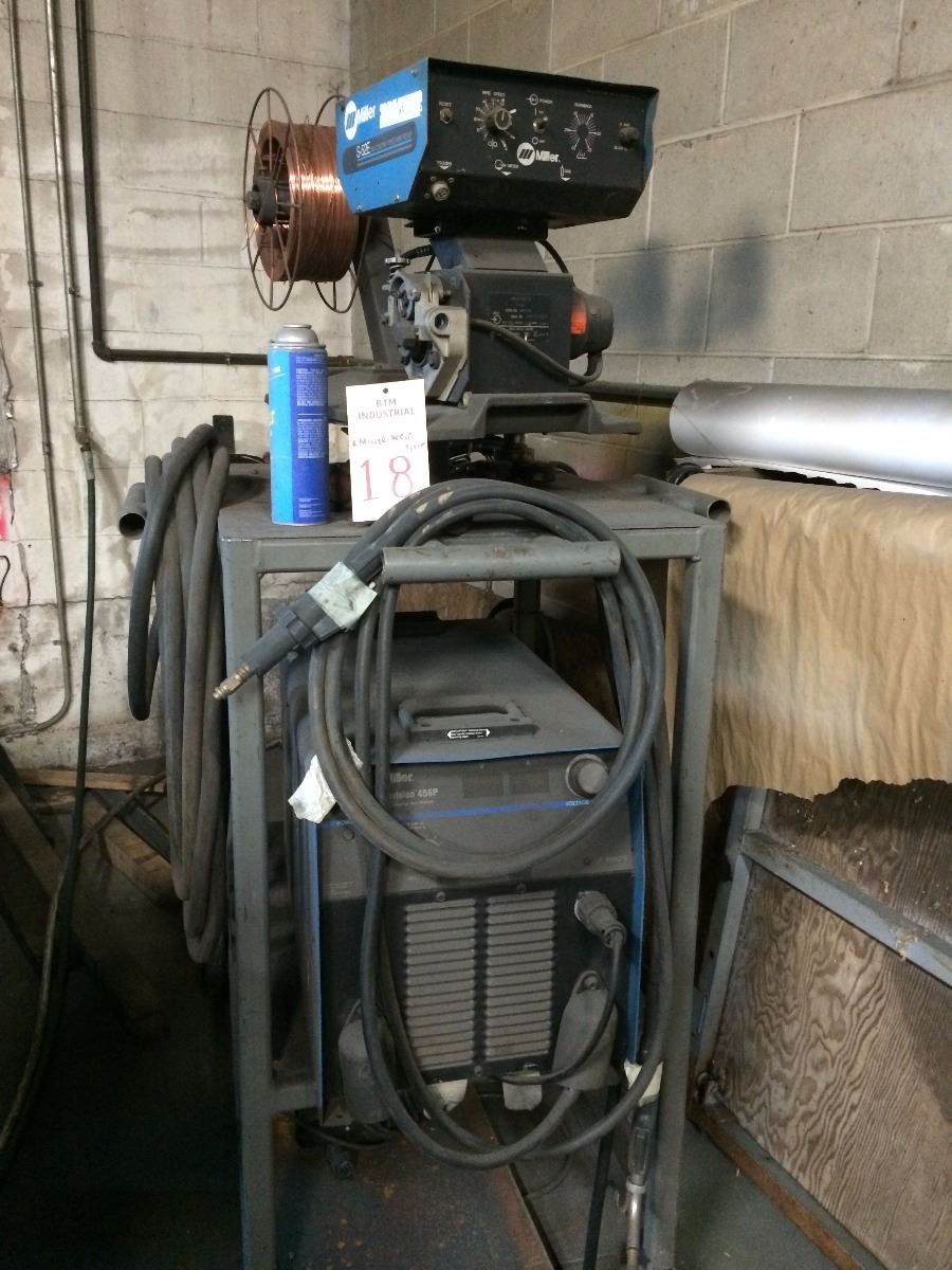 Miller Wire Welder Model Invision 456p Wiring A Image 1