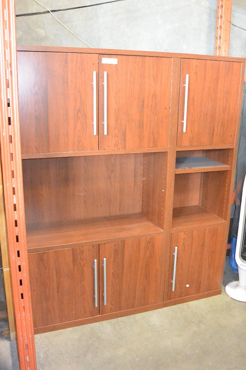 Office Furniture Wall Unit And Desk