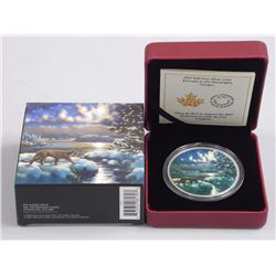 RCM Issue: 2017 $30 Fine Silver Coin - Animals in the Moonlight: Cougar.