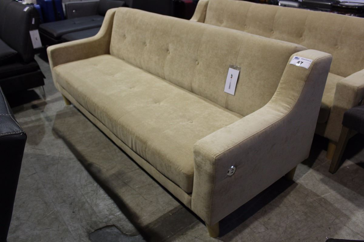 Convertable Bed Sofa With Built In Usb Charging Stations