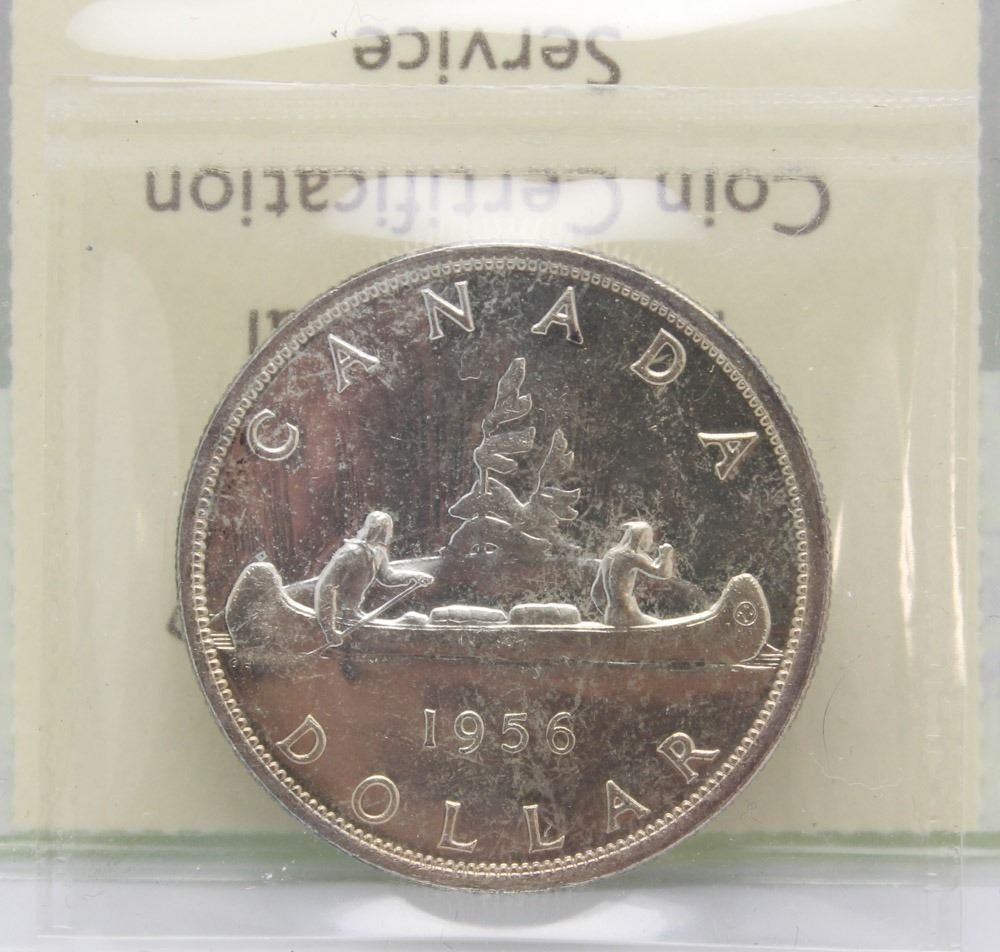 301956 SILVER DOLLAR COIN ICCS MS63