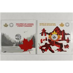 CANADA 2-2017 $3 FINE SILVER COINS HEART OF OUR