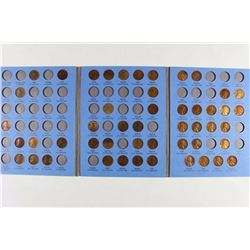 2 PARTIAL LINCOLN CENT SETS 1909-1940 49 COINS
