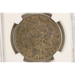 1894-O MORGAN SILVER DOLLAR NGC VERY FINE 30