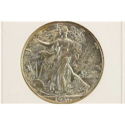 1946 WALKING LIBERTY HALF DOLLAR ANACS AU55