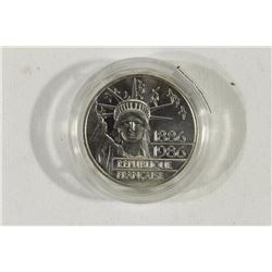 1986 FRANCE SILVER PROOF 100 FRANC PIEDFORT
