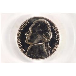 1964 JEFFERSON NICKEL PCGS PR67